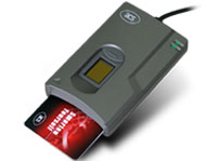 Card and fingerprint reader