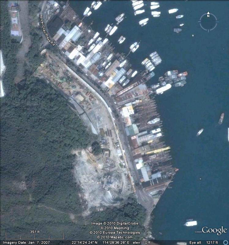 Larvotto and Ap Lei Chau Boatyards