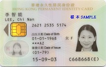 Smart ID Card sample